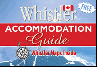 Free Whistler Accommodations Map