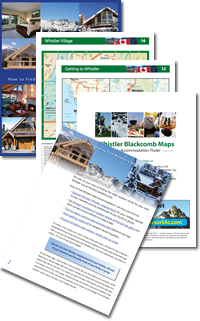 Whistler Accommodation Map PDF Download