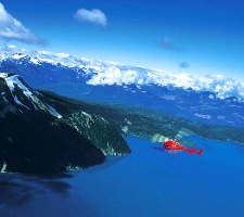 Whistler Aerial Sightseeing - BC Canada - Whistler Blackcomb Resort Aerial Sightseeing Information