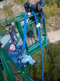 Whistler Bungee Jumping - BC Canada - Whistler Blackcomb Resort Bungee Jumping Information