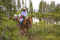 Whistler Horseback Riding - BC Canada - Whistler Blackcomb Resort Horseback Information