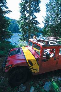 Whistler Hummer Tours - BC Canada - Whistler Blackcomb Resort Hummer Information