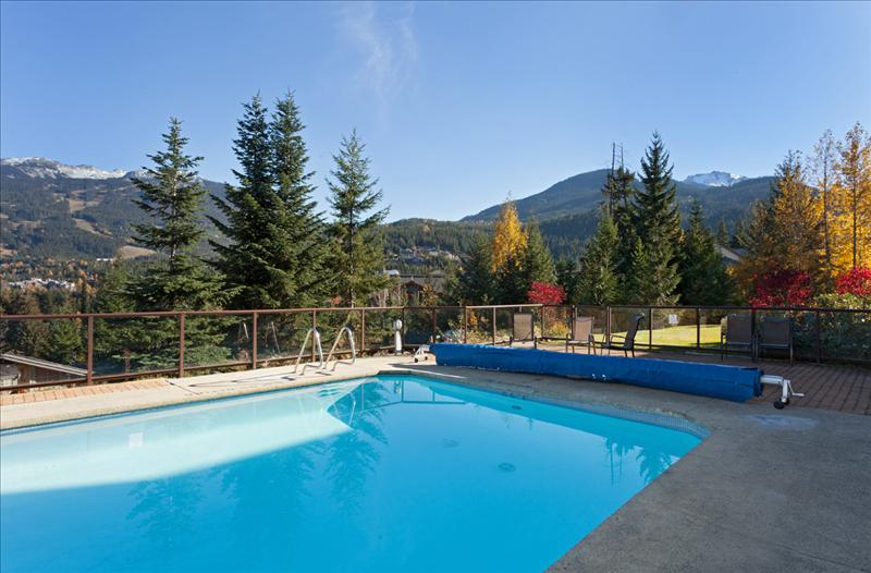 Whistler Accommodations - Pool Area - Rentals By Owner