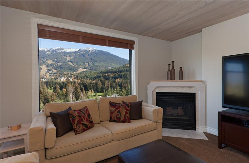 Whistler Accommodations - Views from the living area - Rentals By Owner