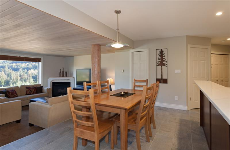 Whistler Accommodations - Dining area - Rentals By Owner