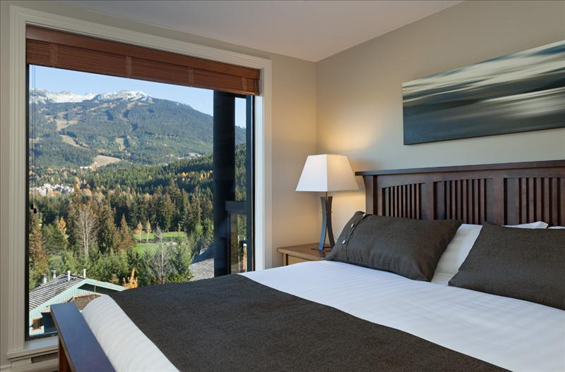 Whistler Accommodations - Master Bedroom View - Rentals By Owner