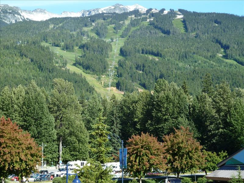 Whistler Accommodations - View of Blackcomb from the condo - Rentals By Owner