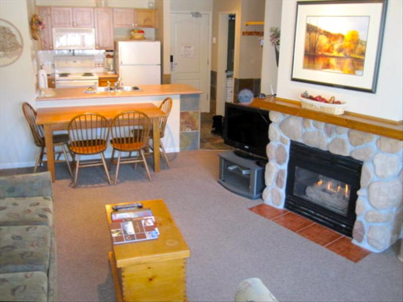 Whistler Accommodations - Living area with pull out sofa - Rentals By Owner