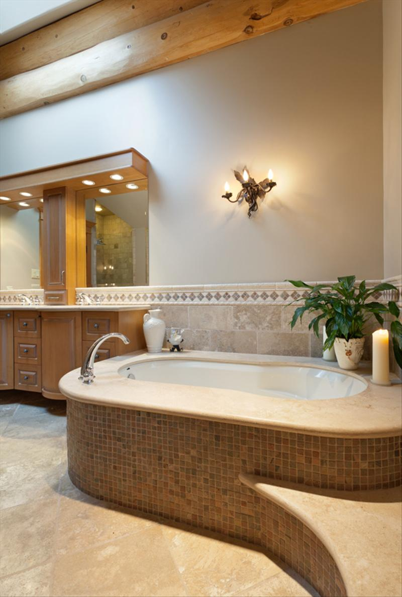 Whistler Accommodations - Luxurious Whistler Chalet Bathroom - Rentals By Owner