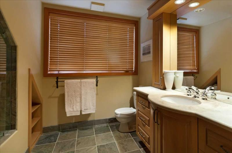 Whistler Accommodations - Log Chalet Bathroom - Rentals By Owner