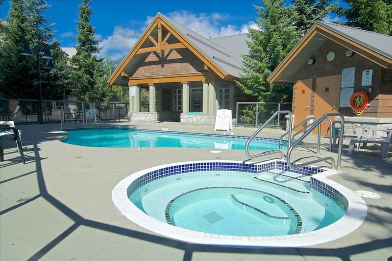 Whistler 2 Bedroom Glaciers Reach, Private HotTub, Pool, BBQ, Sleep 6 Photos