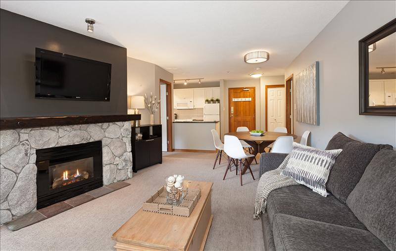 Whistler Accommodations - Luxurious fully upgraded true ski-in/ski-out condo - Rentals By Owner