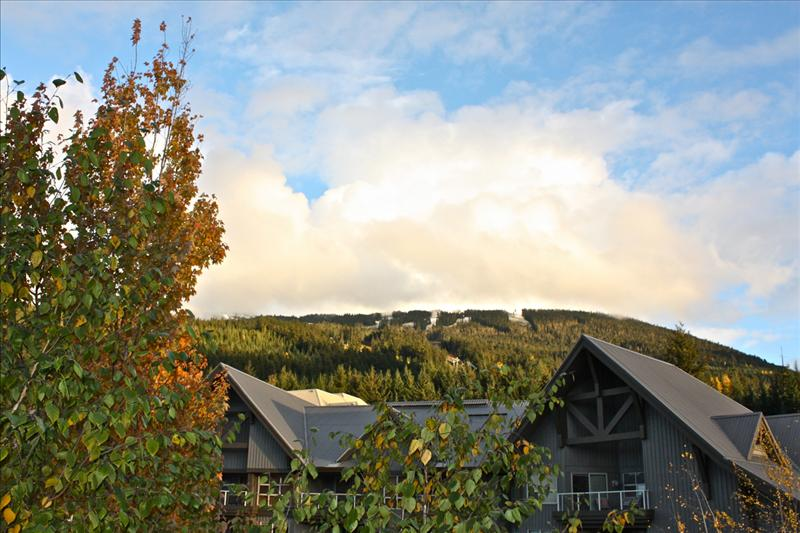 Whistler Accommodations - Gorgeous view up Blackcomb Mountain from the spacious deck - Rentals By Owner