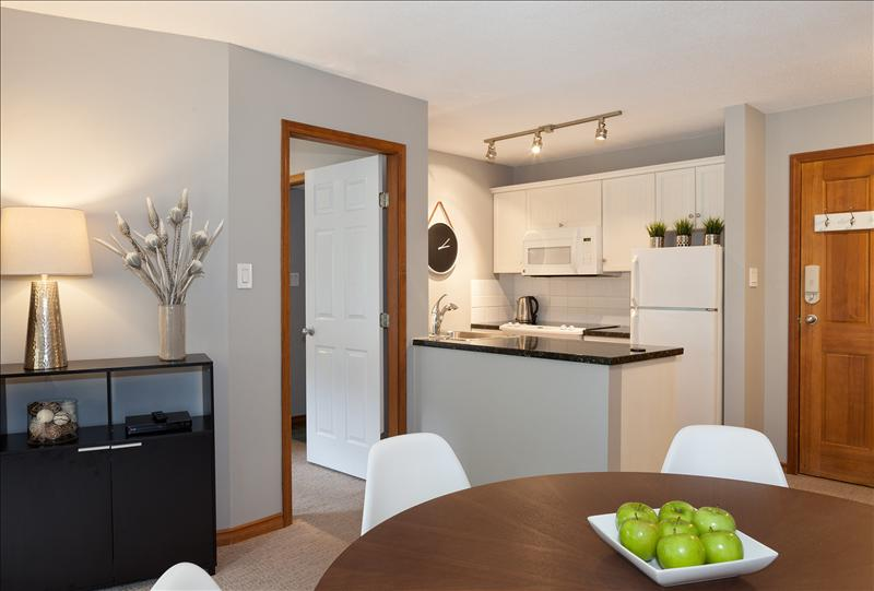 Whistler Accommodations - View to the upgraded kitchen - Rentals By Owner