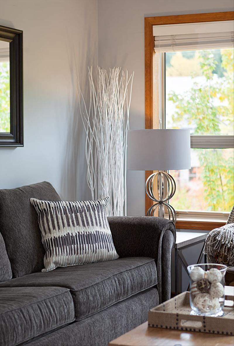 Whistler Accommodations - Luxury furnishings with mountain views from the living area - Rentals By Owner