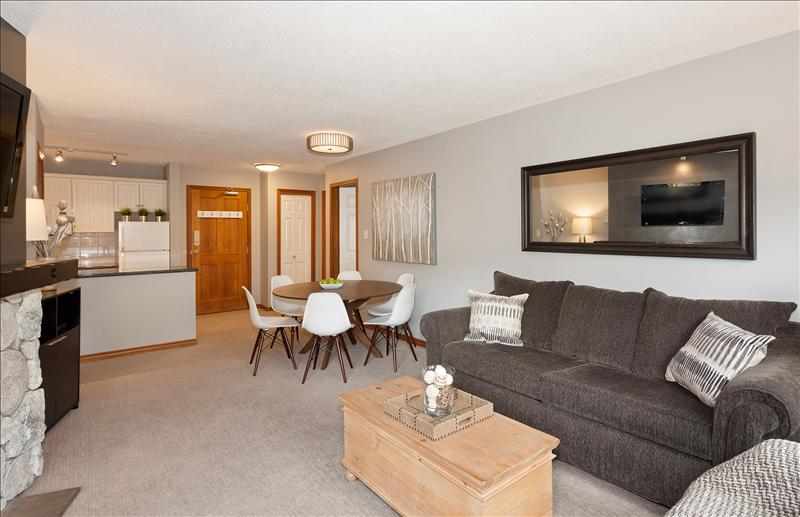 "Whistler Accommodations - Relax in front of the gas fireplace and flat screen 42"" TV - Rentals By Owner"