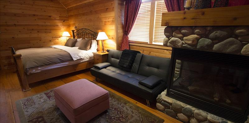 Whistler Accommodations - Master Bedroom - King & Futon - Rentals By Owner