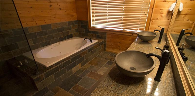 Whistler Accommodations - Master Bedroom Ensuite Bathroom - Rentals By Owner