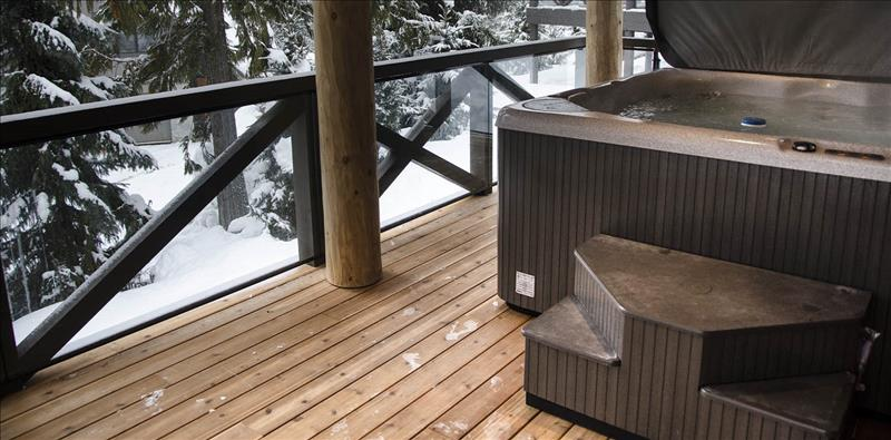 Whistler Accommodations - Lower Level Patio w/Hot Tub - Rentals By Owner