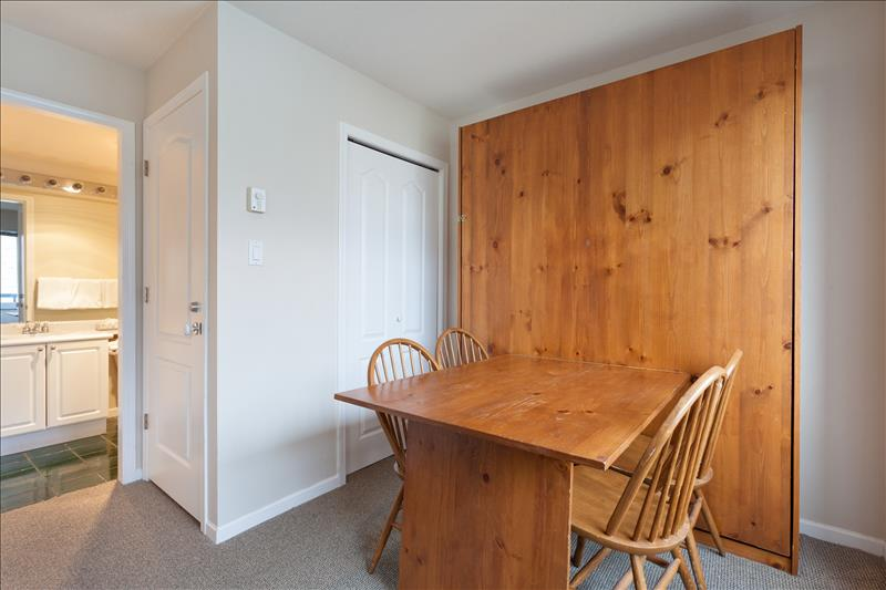 Whistler Accommodations - Murphy bed/dining area - Rentals By Owner