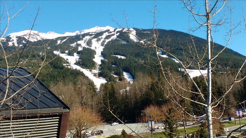 Whistler Accommodations - View from the condo - Rentals By Owner