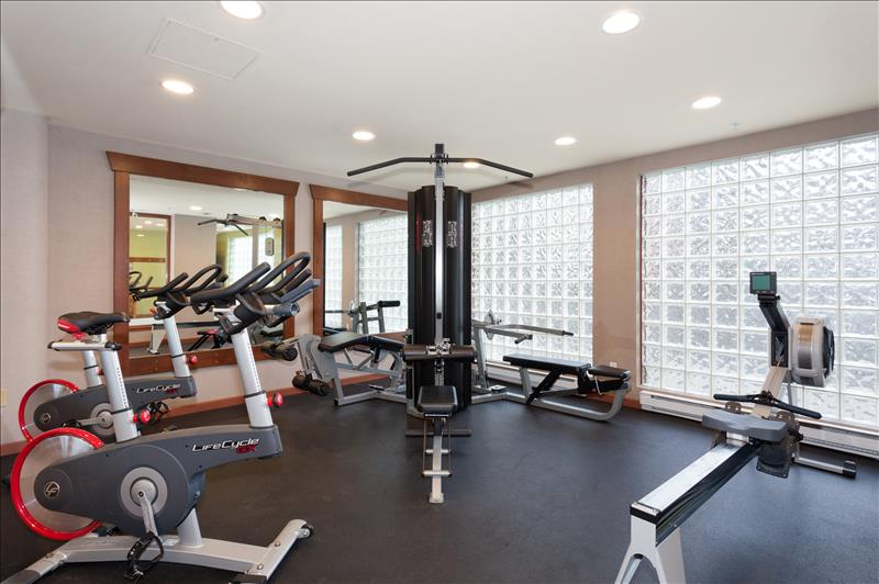 Whistler Accommodations - Common Gym  - Rentals By Owner