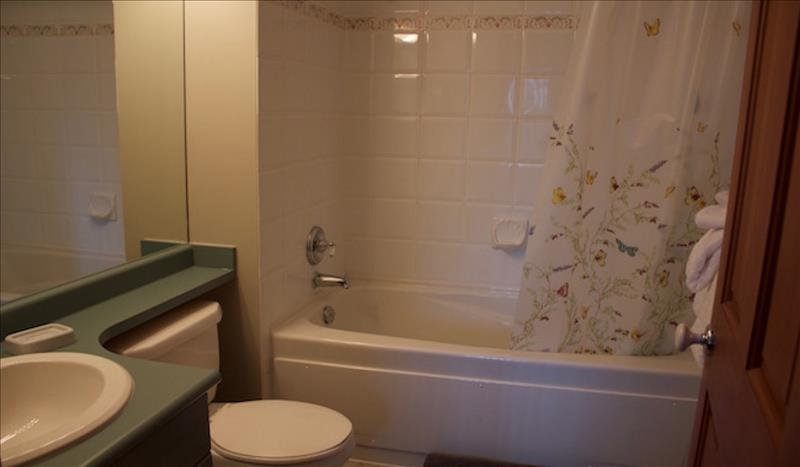 Whistler Accommodations - Stoney Creek Bathroom - Rentals By Owner