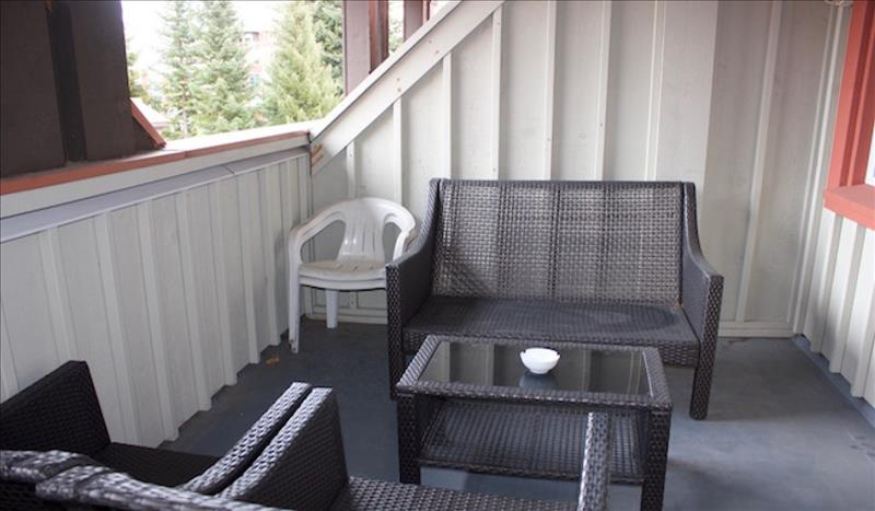 Whistler Accommodations - Deck with Furniture - Rentals By Owner
