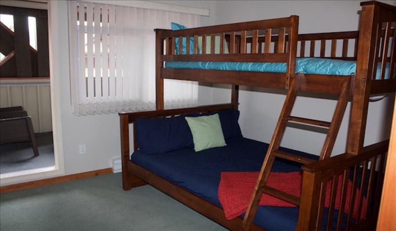 Whistler Accommodations - 2nd Bedroom with Bunks - Rentals By Owner