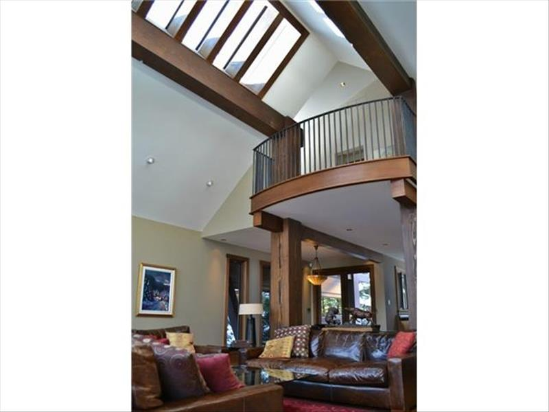Whistler Accommodations - Loft Area from Below - Rentals By Owner
