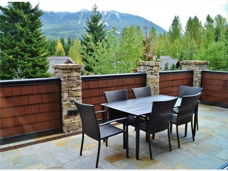 Whistler Accommodations - Luxury Chalet Deck with Views - Rentals By Owner