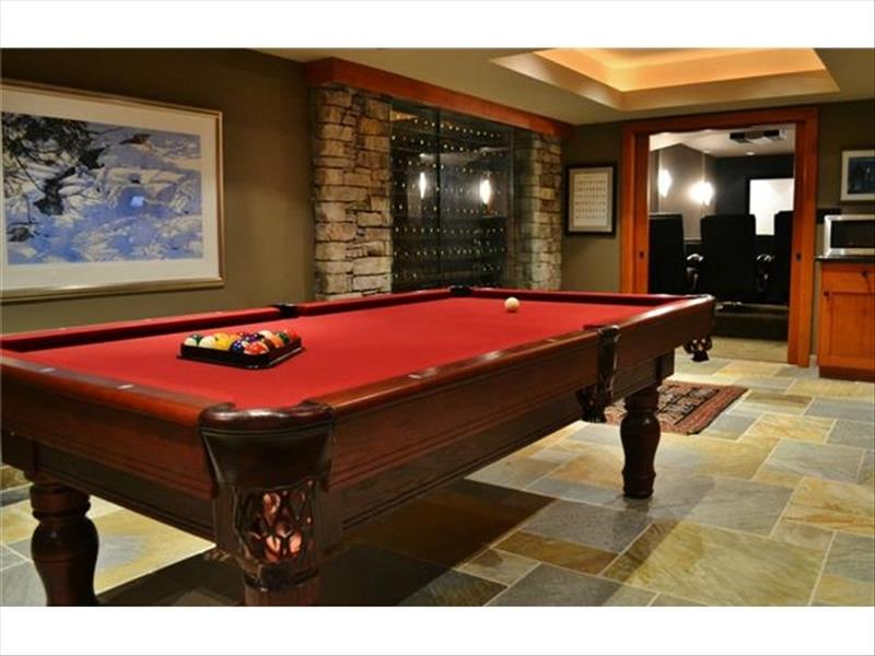 Whistler Accommodations - Luxury Chalet Pool Table - Rentals By Owner