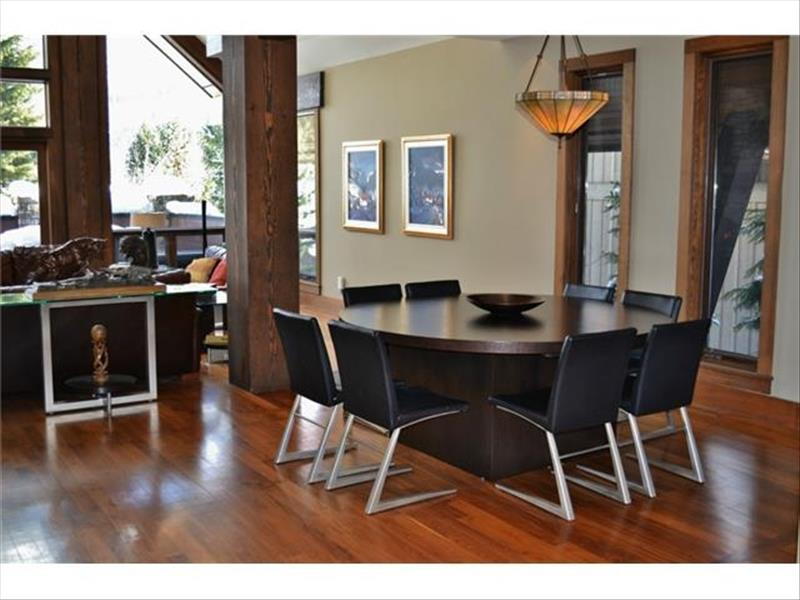 Whistler Accommodations - Luxury Chalet Dining Room - Rentals By Owner