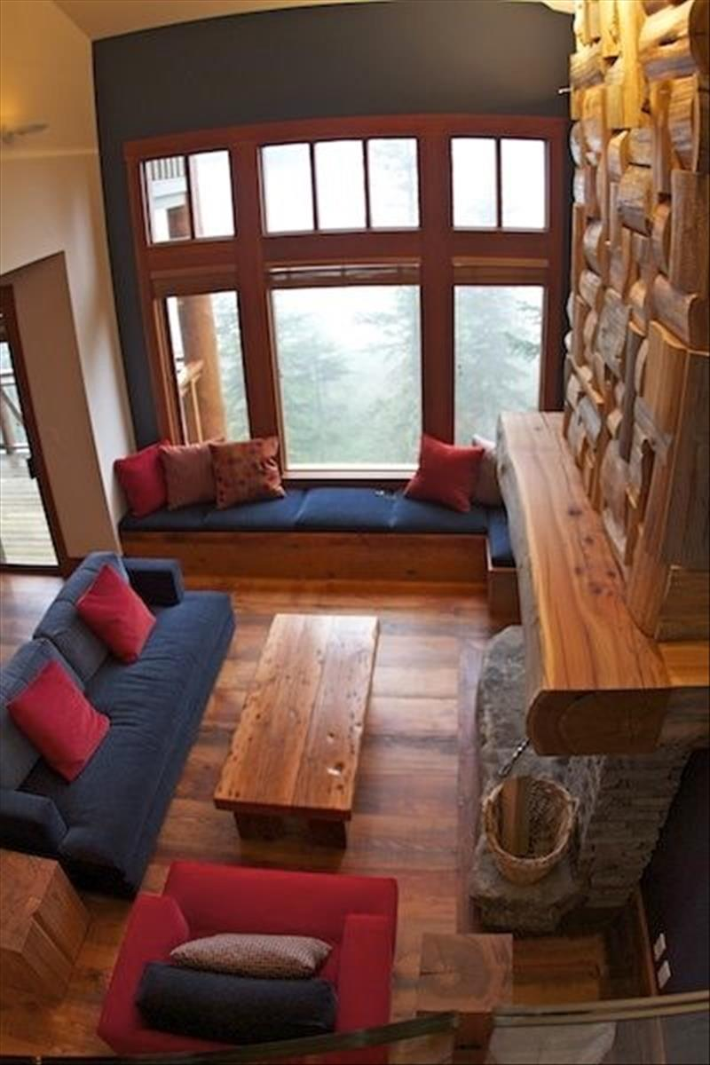 Whistler Accommodations - Whistler Summit Heights Luxury Living Room - Rentals By Owner