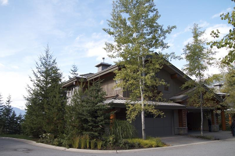 Whistler Accommodations - Whistler Summit Heights 7 Bed 7 Bath Chalet Exterior - Rentals By Owner