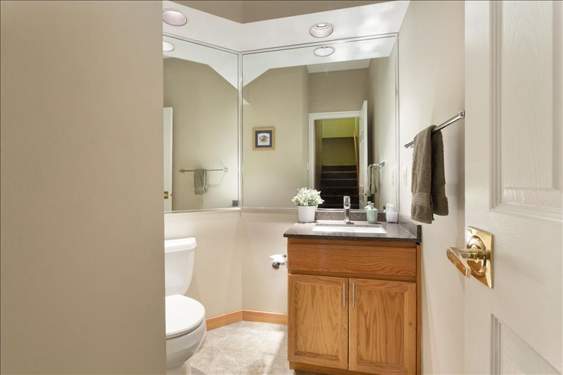 Whistler Accommodations - Snowy Creek Main Floor Powder Room - Rentals By Owner