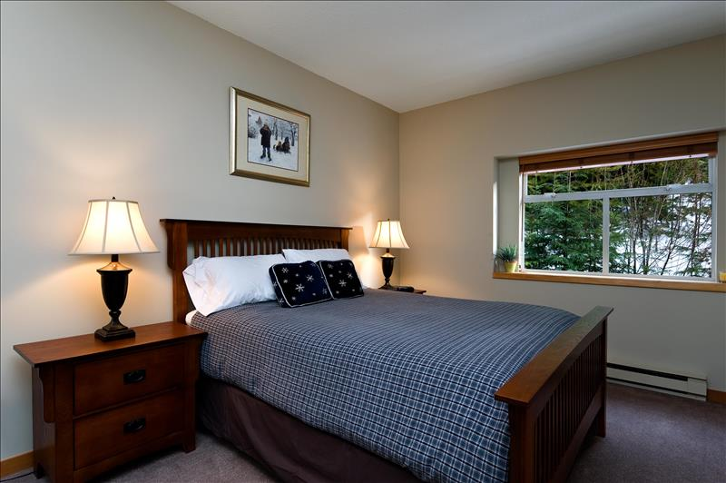 Whistler Accommodations - Snowy Creek Bedroom 2 - Rentals By Owner