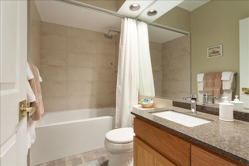Whistler Accommodations - Snowy Creek Bathroom 3 - Rentals By Owner