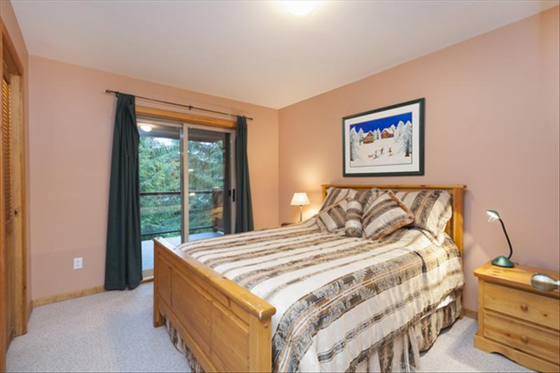 Whistler Accommodations - 1 Queen bed in master bedroom. - Rentals By Owner