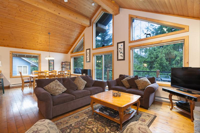Whistler Accommodations - Enjoy our warm and comfortable living room. - Rentals By Owner