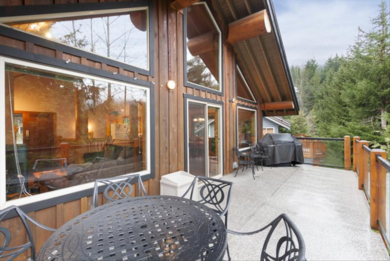 Whistler Accommodations - Great deck with BBQ. - Rentals By Owner