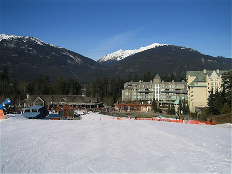 Whistler Accommodations - Ski Out from Aspens :: View Down Slopes - Rentals By Owner