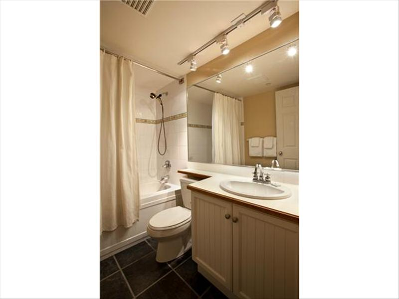 Whistler Accommodations - Whistler Aspens Bathroom - Rentals By Owner