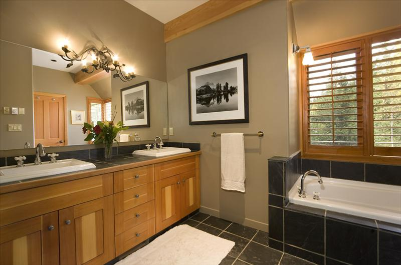 Whistler Accommodations - Master Bath - Rentals By Owner