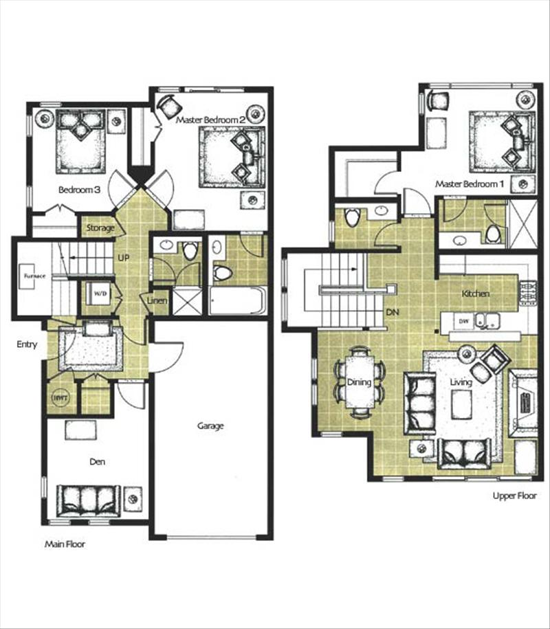 Whistler Accommodations - Our Floorplan - Rentals By Owner