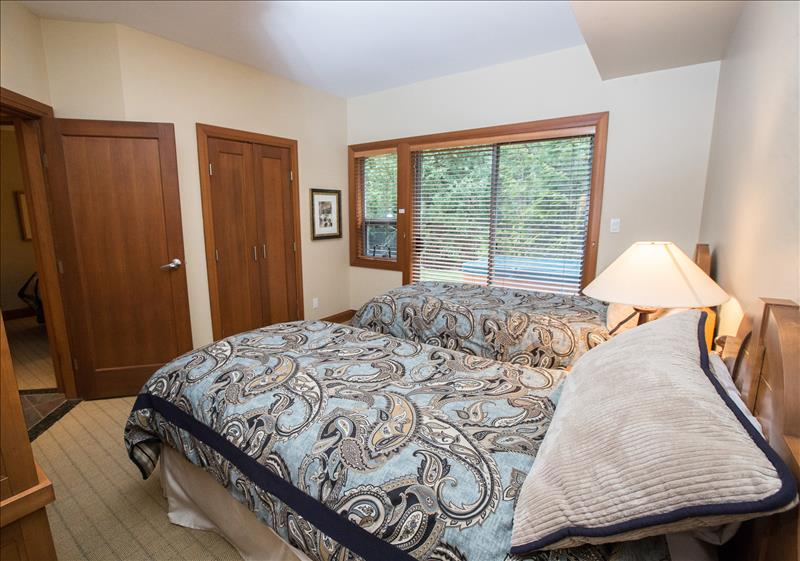 Whistler Accommodations - Lower Master Bedroom (can set up king bed) - Rentals By Owner
