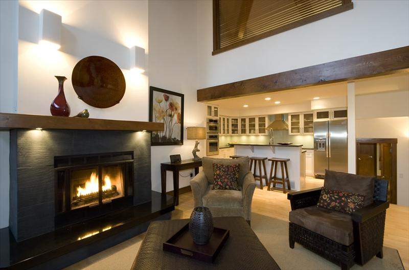 Whistler Accommodations - Fireplace Area - Rentals By Owner