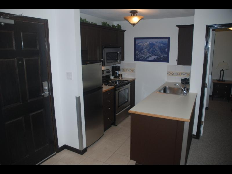 Whistler Accommodations - Kitchen with all Stainless Steel Appliances - Rentals By Owner