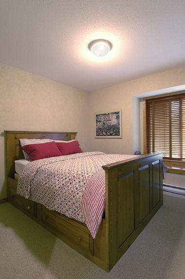 Whistler Accommodations - Bedroom #2 with Queen sized bed - Rentals By Owner