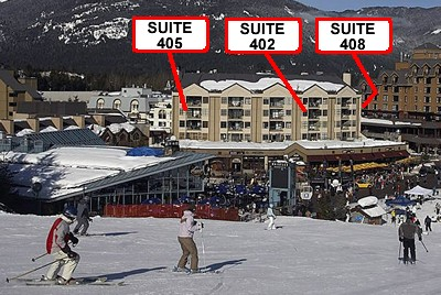 Whistler Carleton Lodge 402 SKI IN SKI OUT condo rental by owner